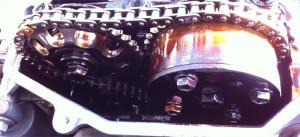 Wariator zmiennych faz rozrządu w silniku 1.8 VVT-i